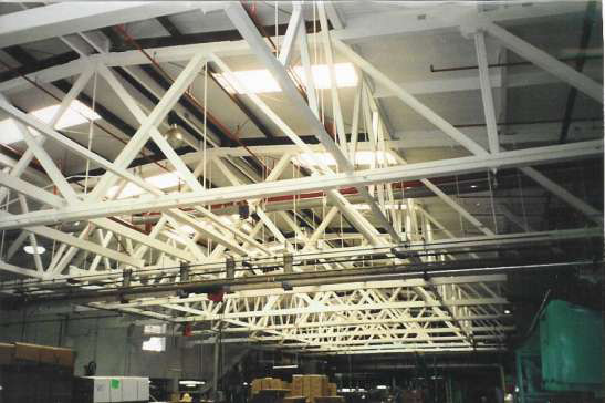 Lead-Based Paint on metal surfaces and trusses