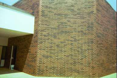 Brick wall After application of  PrepLESS Primer™ and Clear Coat™