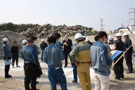 GCK with TEPCO officials