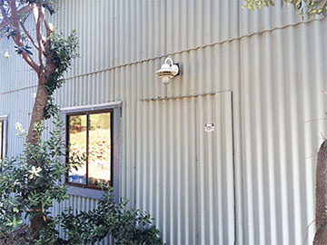 Ch 058 Uc Davis Corrugated Transite Walls At Granite