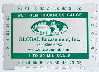 Wet Mil Gauge by Global Encasement, Inc.