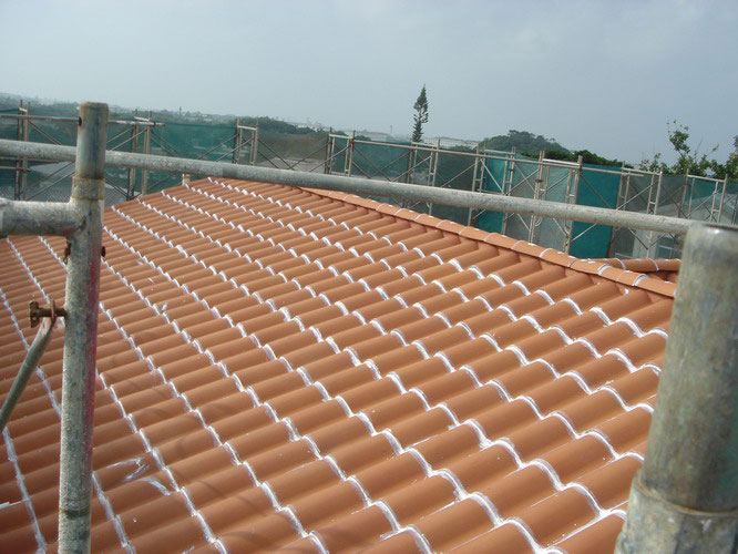 Clay Tile Roof Caulking