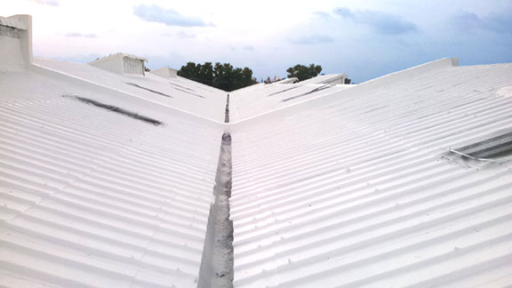 Asbestos Transite Roofing
