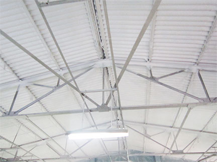Asbestos Transite Roof Ceiling