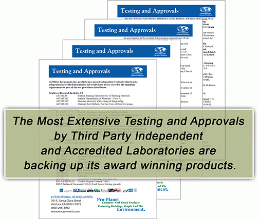 Testing and Approvals