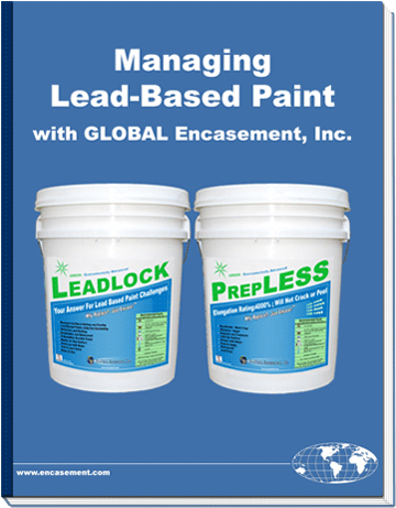 Green coating booklets global encasement inc for Lead based paint inspection