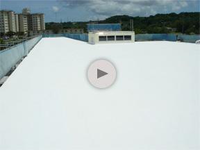 Roof Encasement on Zukeran Elementary School
