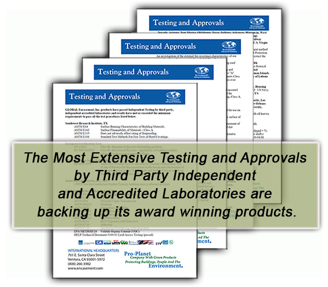 Testing and Approvals by Accredited Laboratories