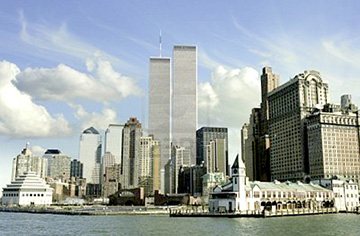 New York City World Trade Center Twin Towers